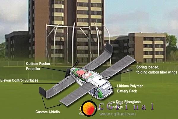 美国防部测试微型无人机 可像杀人蜂一样攻击敌人