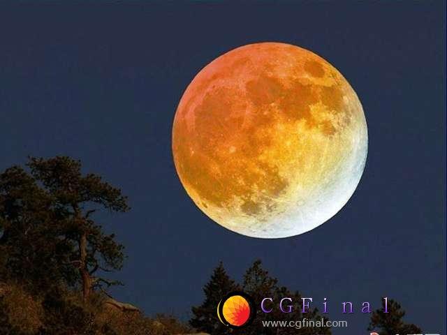 """天文专家称 今年元宵节月亮有点""""大"""""""