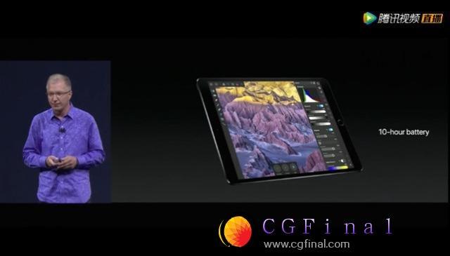 苹果发布10.5/12.9英寸新iPad 边框更窄了