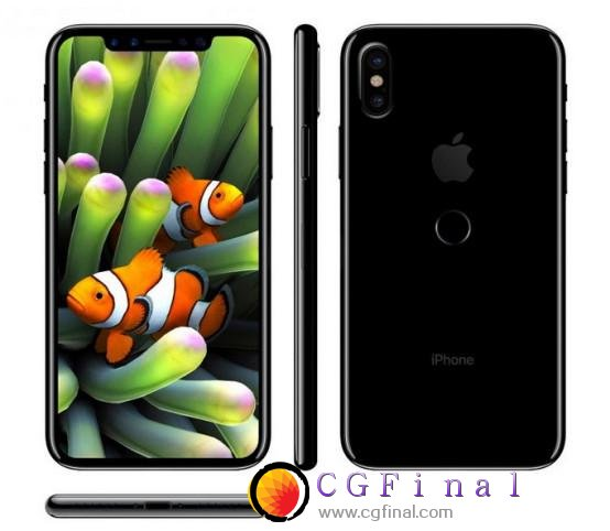 iPhone 7s Plus和iPhone 8最终草稿图曝光