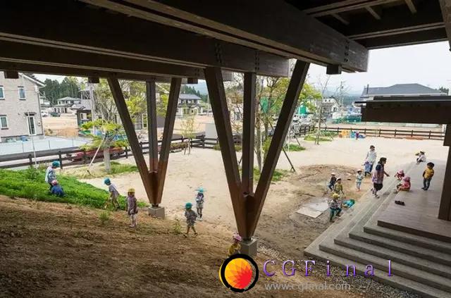被海啸吹毁的树木能干啥?答:建幼儿园!