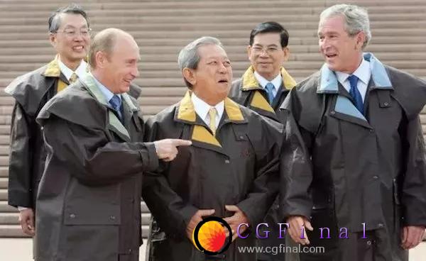 当各国领导人穿上同一件衣服会发生什么..