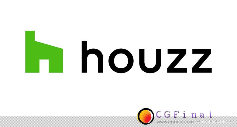 美国知名装修设计平台Houzz更换新LOGO