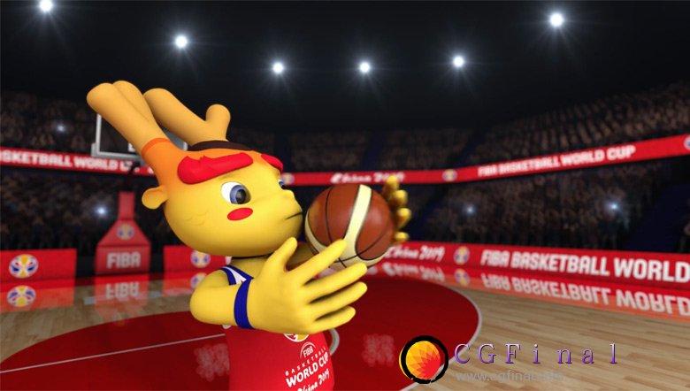 """2019年中国男篮世界杯吉祥物""""梦之子""""正式发布"""