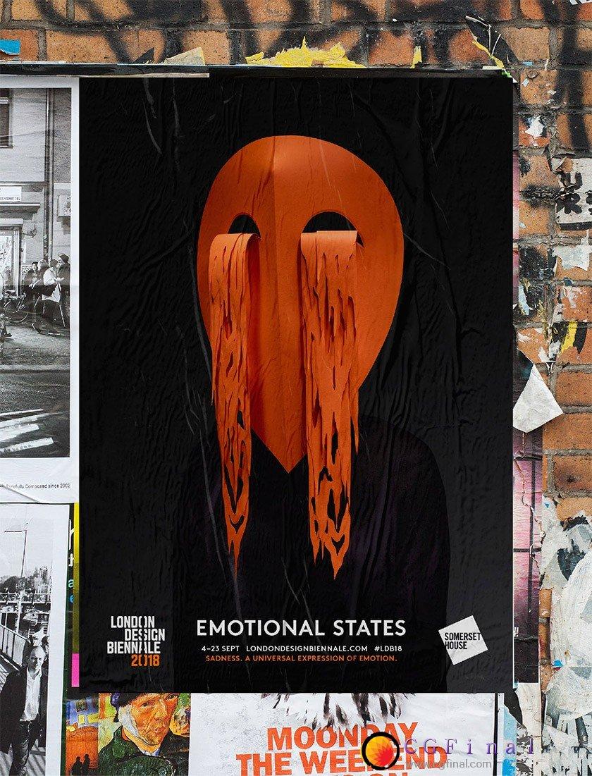 2018 年伦敦设计双年展视觉形象设计